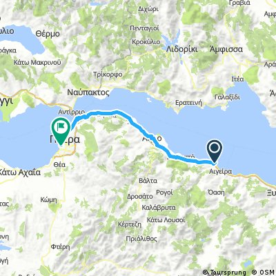 10 Tappa Camping Akrata Beach - Patrasso 71 km