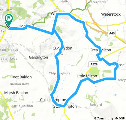 Horspath 20 miler (Oxfordshire)