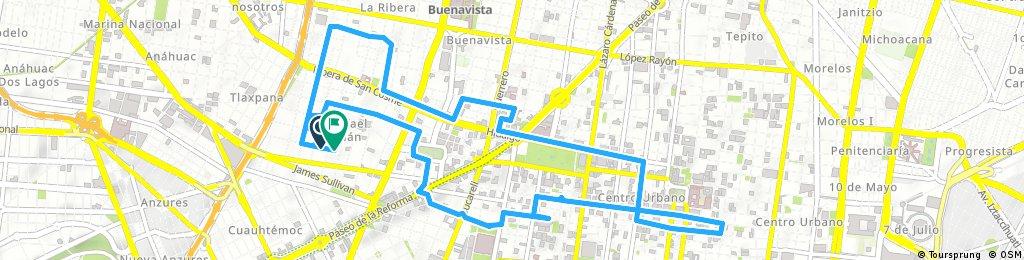 ride through Ciudad de México