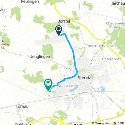 Kurze Ausfahrt durch Stendal