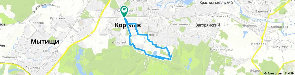 bike tour through Korolyov