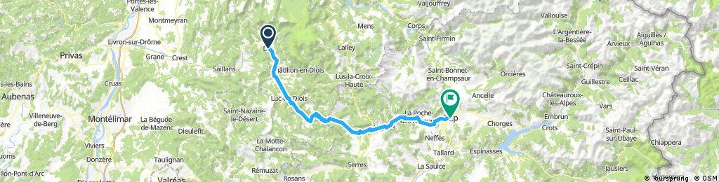 Die to Gap - Col de Cabre
