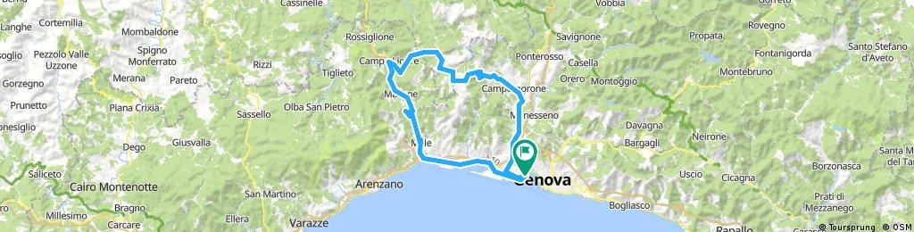 Anello Turchino - Praglia da Genova