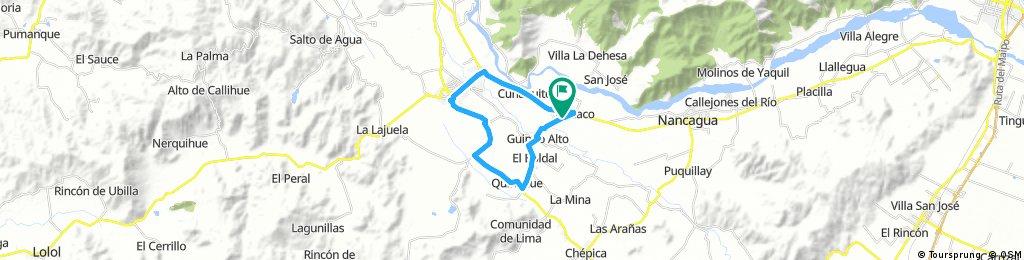 Circuito 2, Cunaco-Chomedahue-Sta Cruz-Cunaco