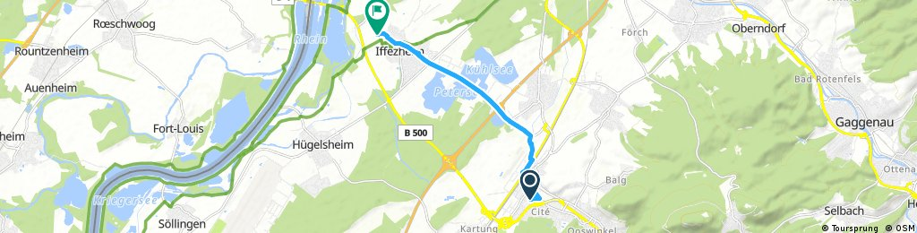 Baden Oos Nach Iffezheim
