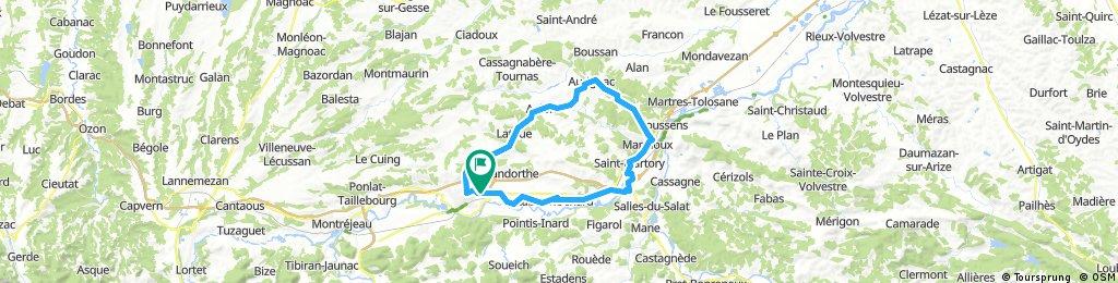 Saint-Gaudens - AURIGNAC - MANCIOUX - ST GAUDENS
