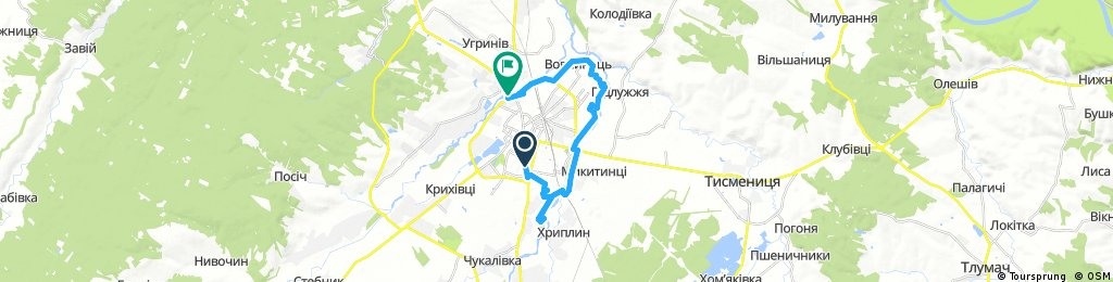 Набережна - Івано-Франківськ