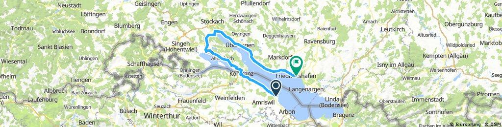 Romanshorn-Radolfzell-Friedrichshafen