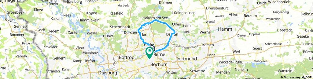 Entlang der Kanäle rund um Recklinghausen