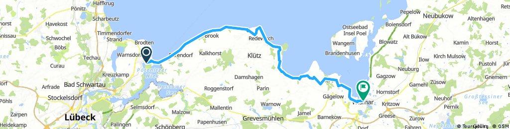 Ostsee 1 Etappe