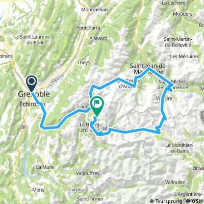Grenoble - Alpe d'Huez