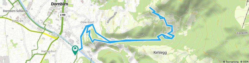 Dannerbruck-Eisenharz-Schauner-Schwende-und Retour
