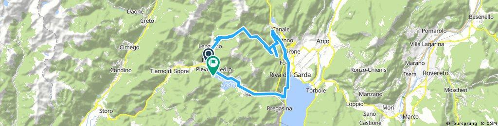 Long ride through Ledro