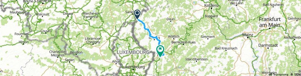 Vennbahn Radweg Winterspelt - Trier