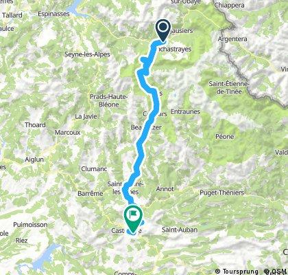 Barcelonette - Castellane - Stage 6