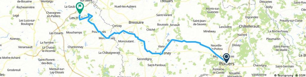 Tour de France: Poitiers - Mont des Alouettes