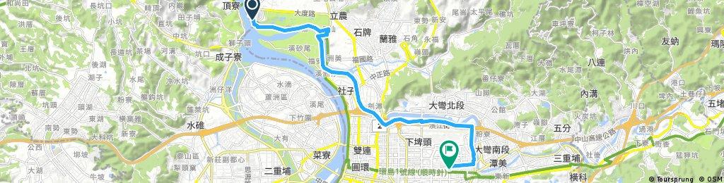 bike tour 松山到關渡