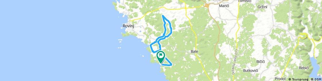 bike tour through Črnibek