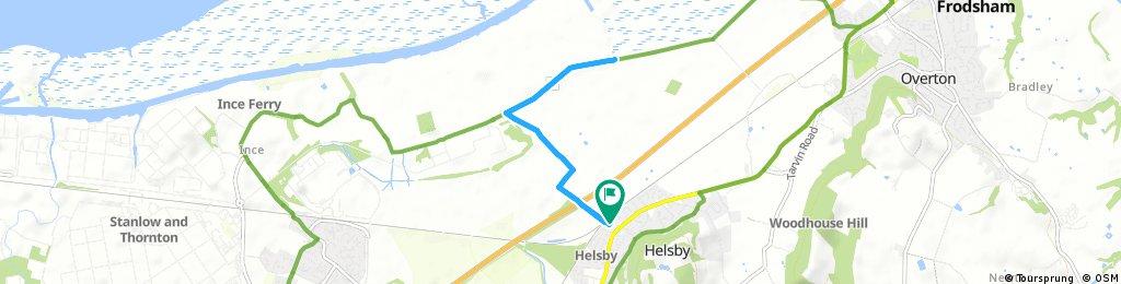 Frodsham Marshes - Shorter Route