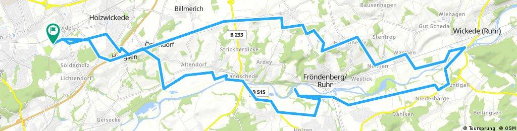 Lange Radrunde durch Dortmund