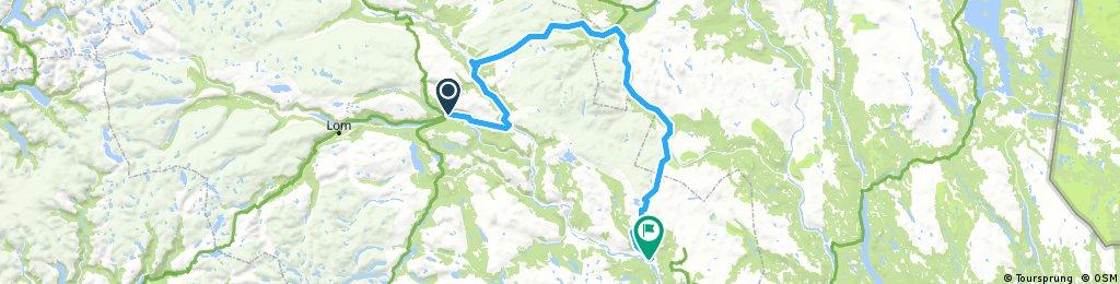 9A. Vågåmo - Ringebu (hill / Long route)