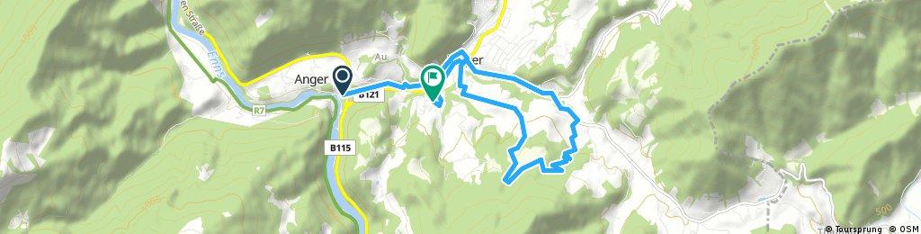 Radrunde von Weyer nach Rapoldeck