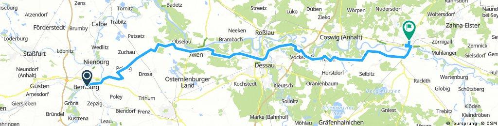 von Bernburg nach Wittenberg