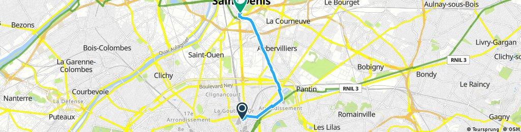 La Chapelle - Saint-Denis