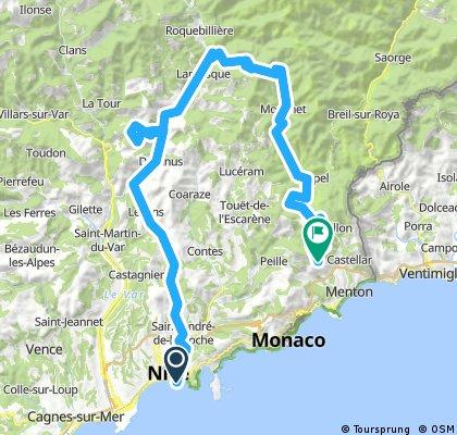 Nice - Saint Agnes - Stage bis