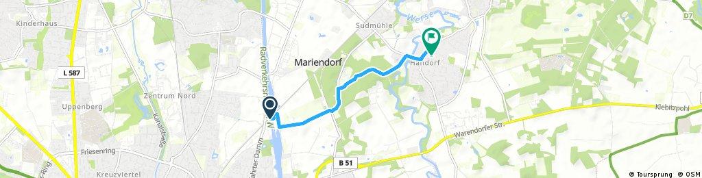 Kurze Ausfahrt durch Münster
