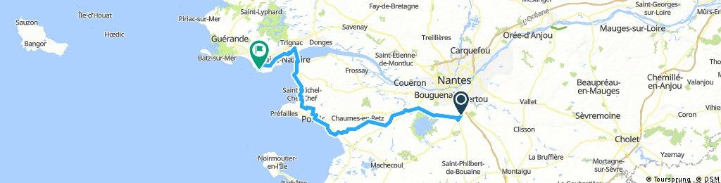 Test Nantes-la Bernerie-Pornichet