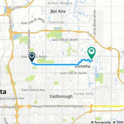 Quick bike tour through Wichita