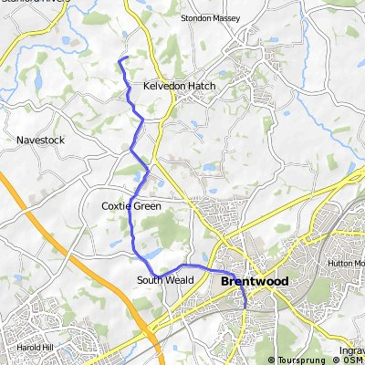 Brentwood to the Secret Nuclear Bunker