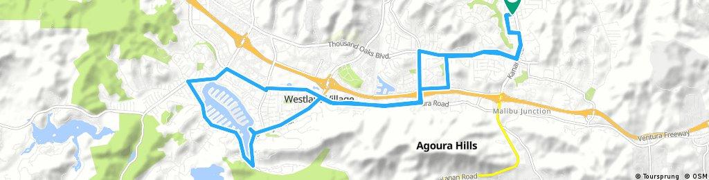 bike tour through Agoura Hills