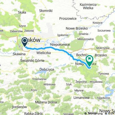 Kraków - Łomna
