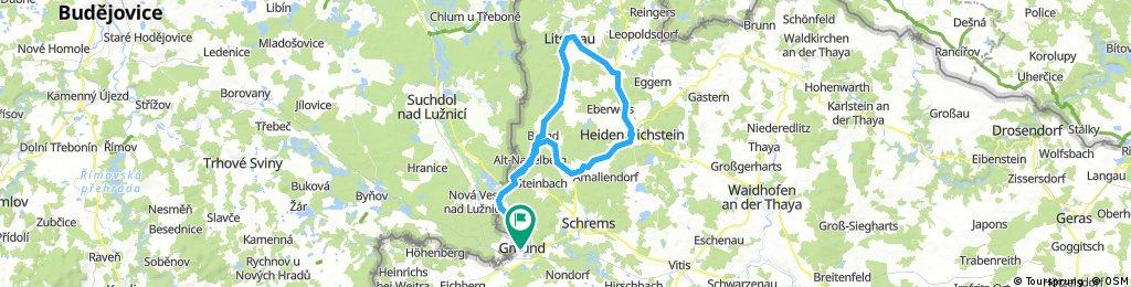 Gmünd-Litschau-Hstein-Langegg-Brand-Gmünd