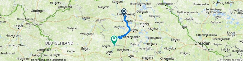 Halle - Camburg