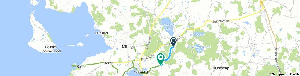 Svanninge bakker rundt - 33 km