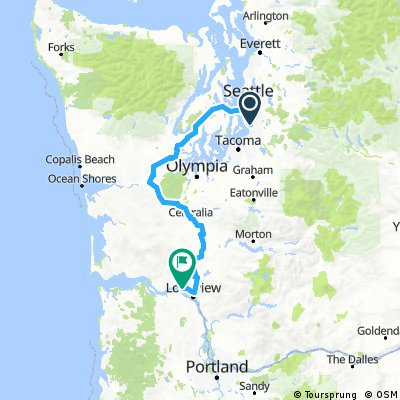 XC USA Pacific Coast 1 Maps 1-11
