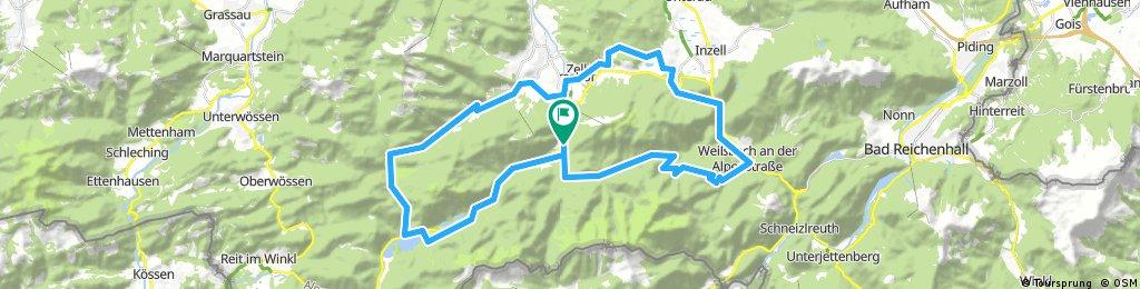 Rund um Rauschberg und Unternberg