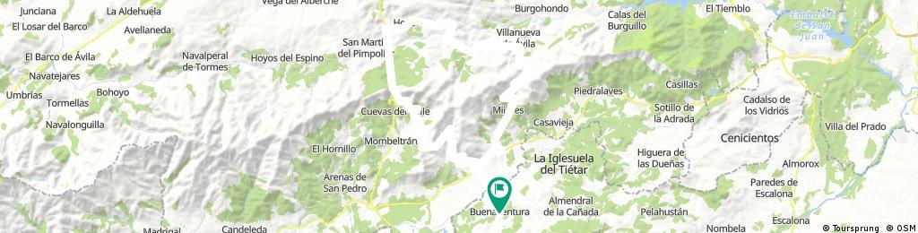 Buenaventura, El Pico, Mijares
