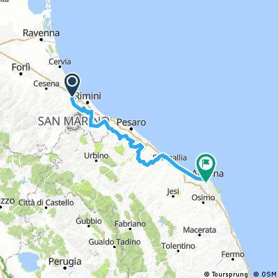 Caduti da Piccoli Tour 2017 -  Seconda Tappa