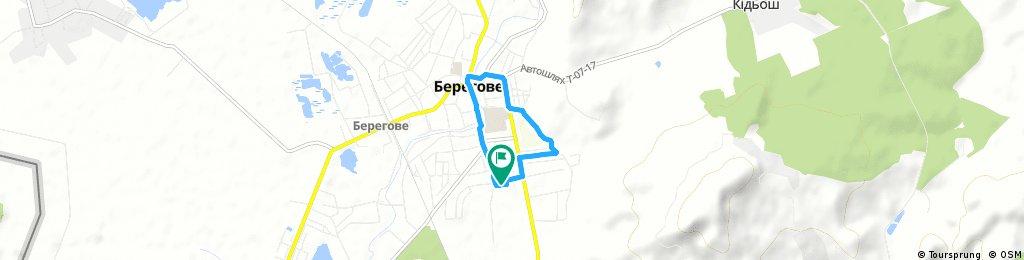 Little ride through Beregszász