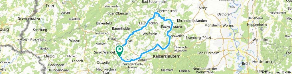 Krottelbach Kusel Lauterecken Meisenheim Rockenhausen Otterberg  Hirschhorn