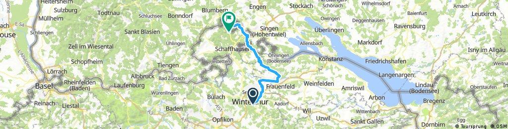 Winterthur - Merrishausen