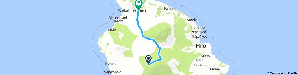 Mauna Loa to Waimea