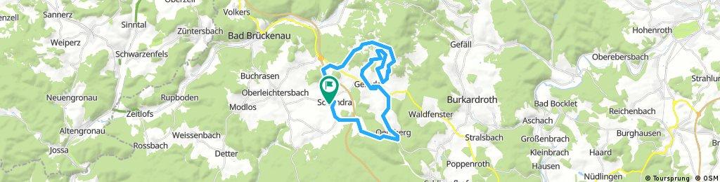 RHÖN 300 - Strecke 35 km