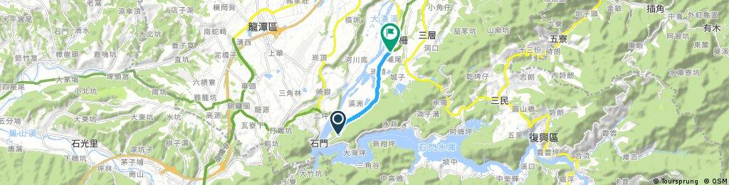 Quick bike tour through 大溪鎮