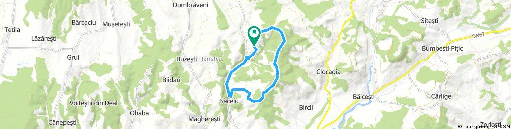 Traseu Sacelata BikeRide - TrixBike