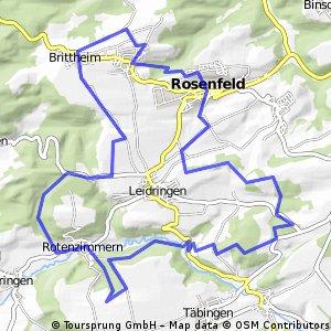 MTB - Feierabendrunde 1, Start/Ziel  Rosenfeld